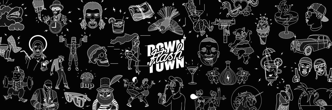 Joseph & Sebastian Downtown Flash
