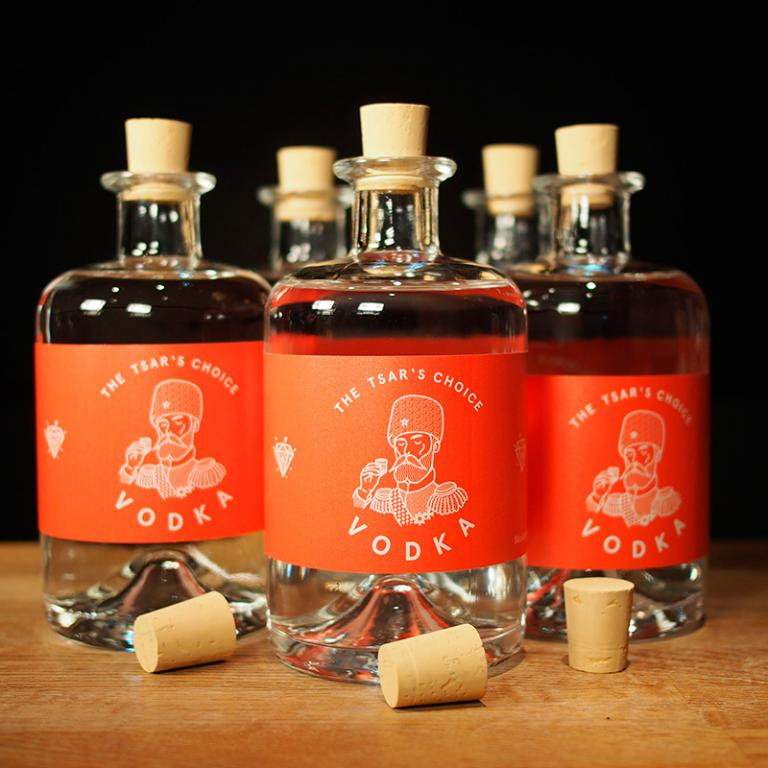 Joseph & Sebastian Liquor Heads